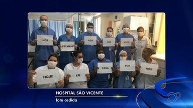 Atos de solidariedade ganham apoio no período de quarentena em Sorocaba e Jundiaí - Diversos atos de solidariedade e em homenagem aos profissionais de saúde foram registrados nos últimos dias na região de Sorocaba (SP).