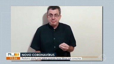 Coronavírus: pediatra alerta pais sobre quando levar filhos ao médico - Médica explica que raramente as crianças vão ter casos graves da doença, mas podem ser fontes de contaminação.