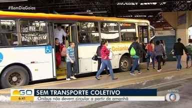 Transporte coletivo deve interromper circulação por causa do coronavírus em Goiás - Ônibus podem parar de rodar;