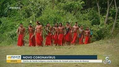 Distrito de Saúde orienta líderes indígenas do Amapá sobre os riscos do novo coronavírus - Estado tem mais de 13 mil indígenas.
