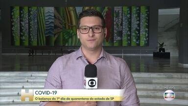 Presos de SP vão produzir 320 mil máscaras de proteção ao coronavírus, diz Doria - Serão produzidas 26 mil peças por dia seguindo os critérios estabelecidos pela Vigilância Sanitária.