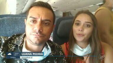 Moradores de Valinhos conseguem voo para voltar da República Dominicana - Itamaraty informou que segue no esforço para repatriar cerca de 200 brasileiros que estão no país.