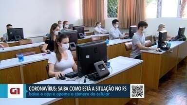 Em Santa Maria, voluntários oferecem consultas médicas através da internet - Para evitar que pessoas circulem pela cidade, estudantes de medicina da cidade atendem quem tiver sintomas.