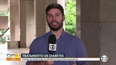 Chega na rede pública remédio para diabetes - Chegou na rede pública o remédio para diabetes Gliclazida, que estava em falta.