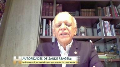 Cientistas e médicos defendem isolamento para conter a Covid-19 - Autoridades de saúde, médicos e infectologistas reagiram ao pronunciamento do presidente Jair Bolsonaro.