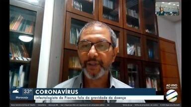 Infectologista fala sobre a gravidade do novo coronavírus - Infectologista Reinaldo Venâncio, da Fiocruz, fala sobre a doença