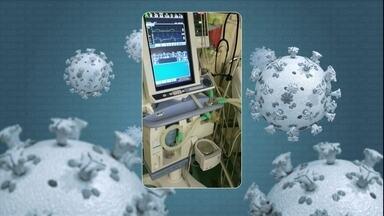 Médica explica como funciona o respirador mecânico no tratamento do coronavírus - Aparelho fornece suporte ventilatório e entrega ar oxigenado ao paciente.