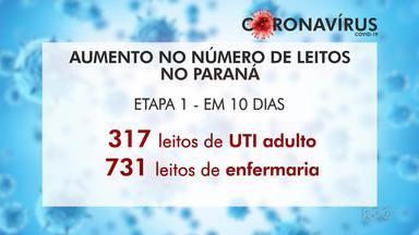 Em dez dias, os hospitais do Paraná devem ganhar mais de 300 leitos de UTI - O secretário de saúde Beto Preto explicou as estratégias do governo para preparar e equipar os hospitais no combate ao Covid-19.