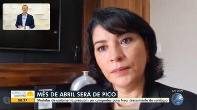 Infectologista da Secretaria Municipal de Saúde fala sobre casos de Covid-19 em Salvador - Mais de 60 pacientes já foram diagnosticados na capital baiana.