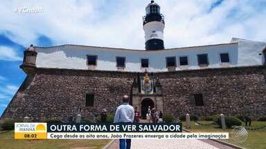 Moradores de Salvador contam como aprenderam a valorizar a cidade através dos 5 sentidos - Veja a reportagem especial em homenagem ao aniversário de Salvador, que completa 471 anos de fundação no dia 29 de março.