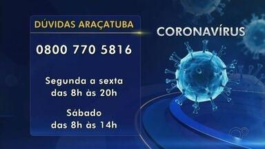 Araçatuba tem 0800 para tirar dúvidas sobre o coronavírus e fazer orientações - Araçatuba tem 0800 para tirar dúvidas sobre o coronavírus e fazer orientações.