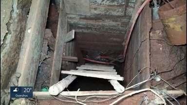PM desmantela esquema de furto de combustível em Osasco - Três homens foram flagrados cavando um túnel que levava aos dutos.