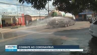 Coronavírus: UBS Lélio Silva e ruas no entorno são desinfectadas - undefined
