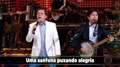 Chitãozinho e Xororó cantam 'Festa de Peão' no Ding Dong - undefined