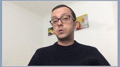 Analista contábil envia depoimento contando situação atual no Reino Unido - Telespectadores do Alto Tietê têm enviado vídeos para o Bom Dia Diário, e nesta segunda-feira é a vez do Octávio Raineri Neto.