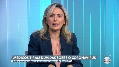 Coronavírus: pacientes com menos de 40 anos e sem comorbidades chegam em estado grave - Médica enfatiza que a Covid-19 também pode ser grave em pessoas sem doenças crônicas.