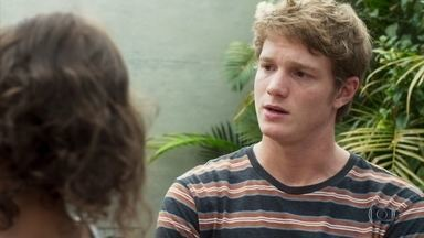 Filipe agradece Leila por cuidar de Nina - undefined