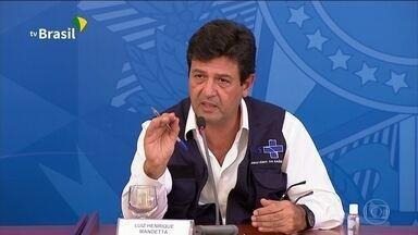 Coronavírus: Ministro da Saúde anuncia ligações automáticas para monitorar sintomas - Milhões de brasileiros vão receber uma ligação reproduzindo uma consulta médica. O objetivo é mapear a velocidade de propagação do novo coronavírus e as áreas de maior contaminação.