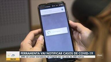 Ferramenta notifica casos de coronavírus em Florianópolis - Ferramenta notifica casos de coronavírus em Florianópolis
