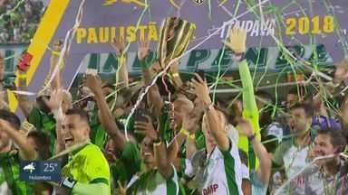 Ídolos do Guarani celebram aniversário de 109 anos do clube - Fundado em 1911, Bugre acumula triunfos memoráveis, além de ser o único campeão brasileiro do interior.
