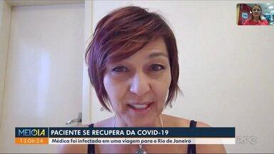 Médica que se recuperou da Covid-19 fala sobre a doença - undefined