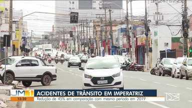 Por conta de medidas de isolamento social, cai o número de acidentes em Imperatriz - undefined