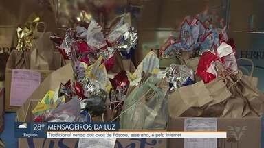 Entidade de Santos faz venda de ovos online - Lar Mensageiros da Luz reverte valor da venda dos ovos para a instituição.