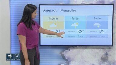 Frente fria causa chance de chuva na região de Ribeirão Preto; veja previsão - Meteorologistas alertam para redobrar os cuidados durante a terça-feira (7).