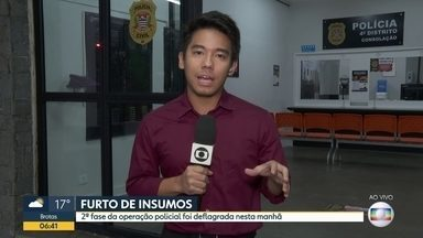 Polícia Civil prende integrantes de quadrilha que furtava insumos hospitalares em SP - Os insumos foram furtados nas últimas semanas