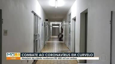 Hospitais de Curvelo reforçam o atendimento de pacientes com a Covid-19 - Estrutura de saúde da cidade é polo para 11 municípios da região.
