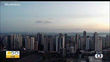 Confira a previsão do tempo em Goiás - Dia será de sol, com variação de nebulosidade com chance de chuva a tarde.