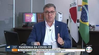 Secretário de estado da Saúde fala sobre a COVID-19 em Minas Gerais - Várias medidas estão sendo tomadas para o enfrentamento da doença no estado.