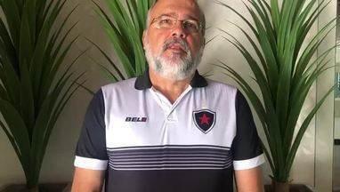 Sérgio Meira explica redução dos salários dos atletas em 25% e espera momento ruim passar - Presidente do Botafogo-PB decidiu dar férias coletivas no clube e anunciou que teve que reduzir os salários dos jogadores, repetindo medidas de outras equipes pelo Brasil.