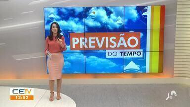 Veja a previsão do tempo para esta quinta-feira (09) no Ceará - Saiba mais no g1.com.br/ce