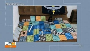 Preso suspeito de tráfico de drogas em Goiânia - Segundo policiais, ele levava consigo mais de 20 mil unidades da substância.