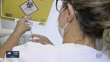Procura por vacina contra a gripe aumenta em Varginha (MG) - Procura por vacina contra a gripe aumenta em Varginha (MG)