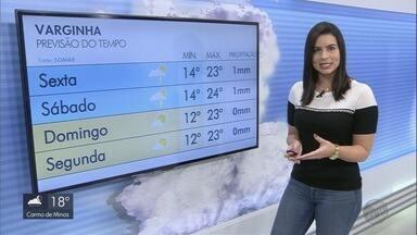 Temperatura deve cair nos próximos dias no Sul de Minas - Temperatura deve cair nos próximos dias no Sul de Minas