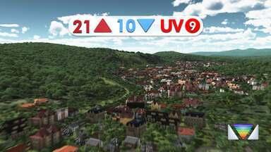 Confira a previsão do tempo para esta sexta-feira, 10, na região - Confira reportagem do Jornal Vanguarda de 09/04/2020.