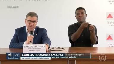 Romeu Zema anuncia pagamento dos salários de servidores públicos do mês de Abril - Governador anuncia decisão após se reunir, em Brasília, com presidente Jair Bolsonaro e Ministro da Economia Paulo Guedes.