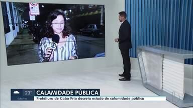 Barreiras sanitárias são montadas em Cabo Frio, no RJ - Após três casos confirmados de coronavírus, o município decretou estado de calamidade pública.