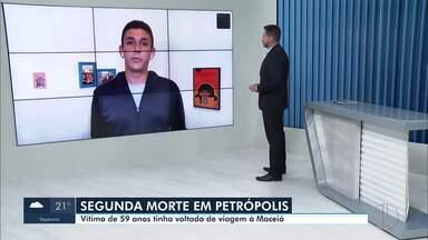 Prefeitura de Petrópolis, RJ, confirma segunda morte por coronavírus - Vítima era um homem de 59 anos, que estava internado em um hospital particular da cidade.
