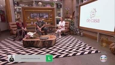 Programa de 11/04/2020 - Ana Furtado, André Marques, Cissa Guimarães, Patrícia Poeta, Tiago Leifert e Zeca Camargo comandam programa de variedades das manhãs de sábado, ao vivo.
