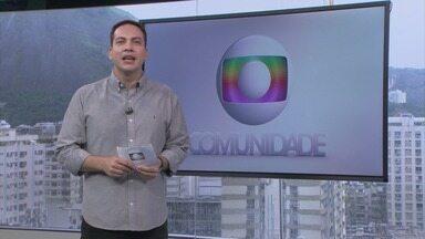 Globo Comunidade RJ - Íntegra de 12/04/2020 - Noticiário que traz assuntos de interesse da comunidade, como qualidade de vida e urbanismo.