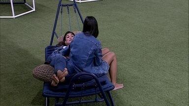 Mari desabafa com Ivy sobre brother: 'Jamais falaria alguma coisa do Babu agora' - Mari desabafa com Ivy sobre brother: 'Jamais falaria alguma coisa do Babu agora'