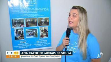 No Crato, lar espírita faz campanha para distribuir cestas básicas a 40 famílias - Saiba mais no g1.com.br/ce