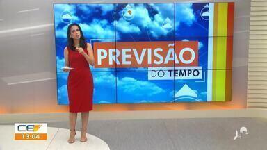 Veja a previsão do tempo desta terça-feira com Camila Marcelo - Saiba mais no g1.com.br/ce