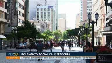 Pessoas estão deixando de fazer o isolamento social - A medida é fundamental na luta contra o vírus. Em Paranavaí, a doença fez a primeira vítima fatal.