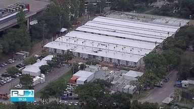 Governo federal monta hospital de campanha ao lado da Fiocruz, em Manguinhos - O hospital vai contar com 200 leitos, sendo 180 leitos de UTI.