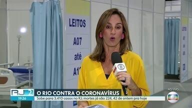 Casos de Coronavírus no Rio continuam subindo - Já são 224 mortes em todo o estado.