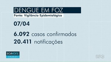 Cresce casos de dengue em Foz do Iguaçu - A Vigilância Epidemiológica afirma que casos suspeitos do ano passado entraram para lista de positivos.